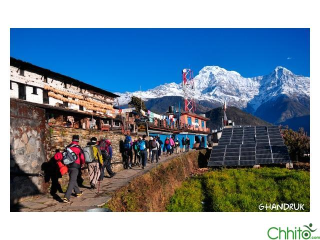 ABC (Annapurna Base Camp) Trek-9 to 16 Days