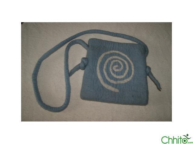 Spiral Knot Bag