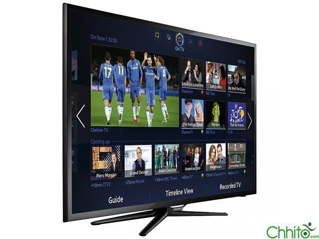 The Samsung Led Smart Tv 46 Inches - Model Ua46f5500