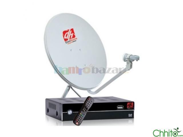 Dish Home (dth) With Installation