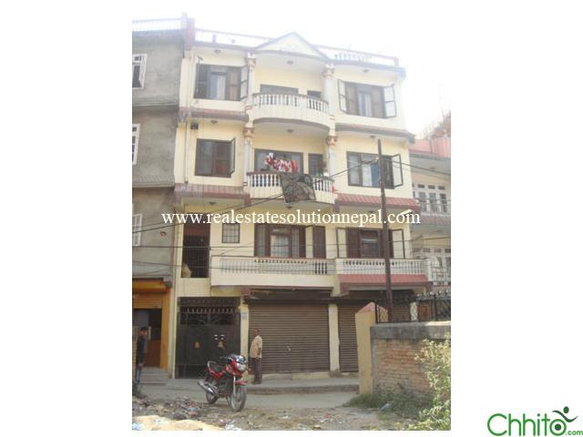 House for sale at Lalitpur-Balkumari