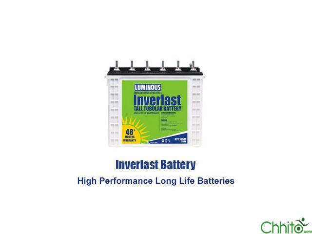 150ah Tall Tubular Luminous Inverter Battery