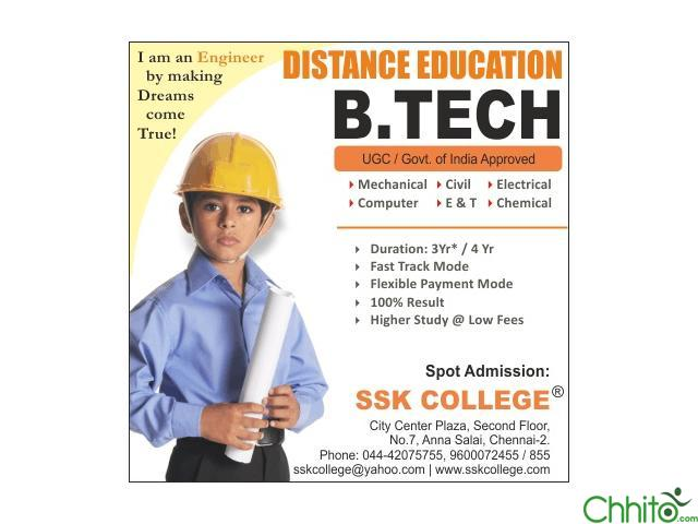 Btech Through Distance Education [RVD]