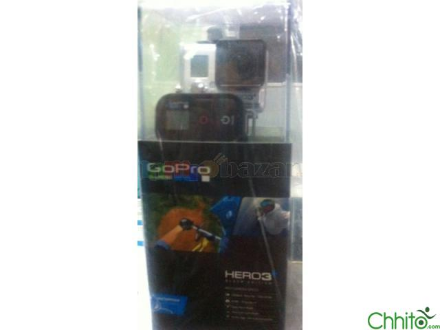 GO PRO HERO3+ BLACK EDITION SEALED PACK BRAND NEW
