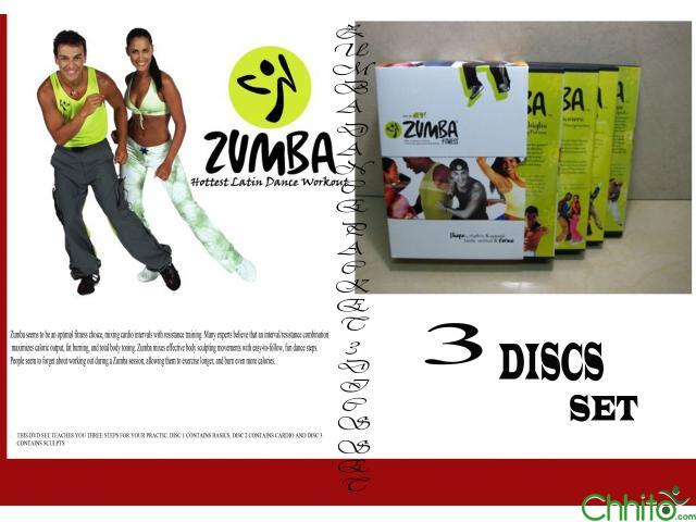 Zumba Training Dvd Video