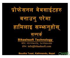 Website Designing in Nepal - Bikashsoft Technology Pvt. Ltd.