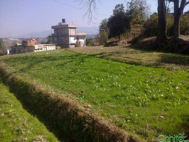 A plain plot of land in kathmandu with very reasonable price