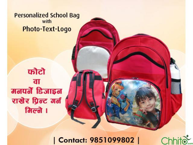 School Photo Bag