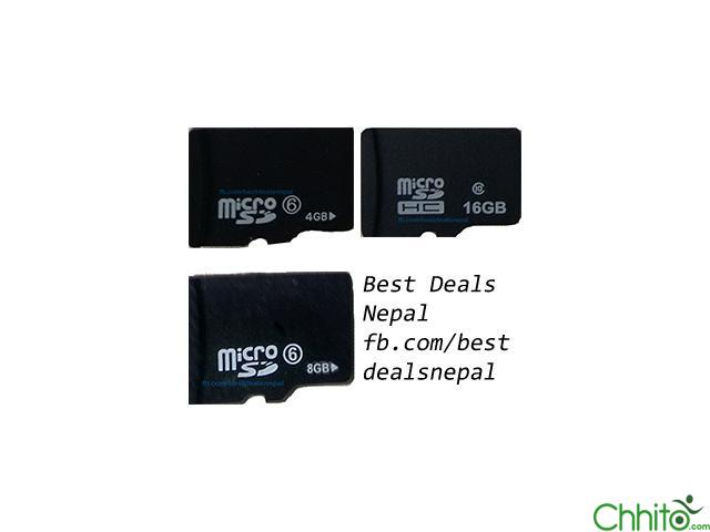 Brand New Memory Cards At Wholesale Rate | 6 Months Warranty
