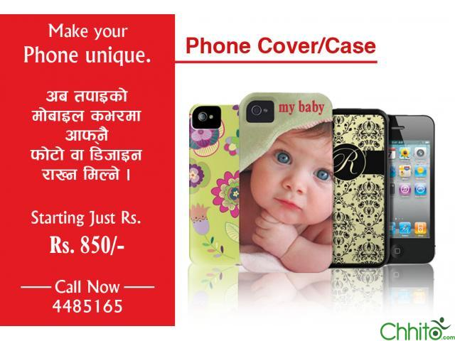 Customized/ personalized Mobile Cover/ Case