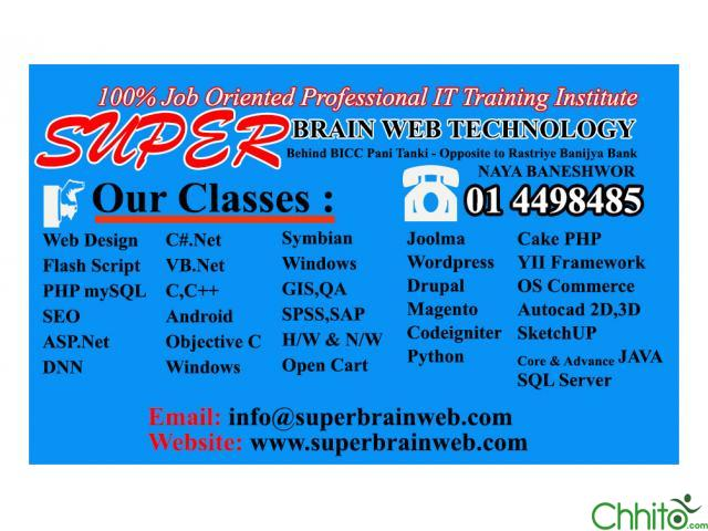 IT COURSES - SUPER BRAIN WEB TECHNOLOGY
