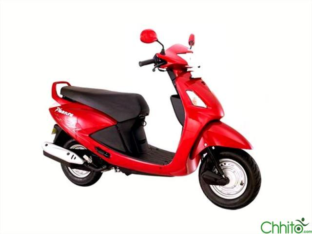Very Fresh Scooter of Hero Honda Pleasure of 38 lot Sell And Exchange too