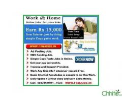 SIMPLE COPY & PASTE JOB, HAVE YOU EVER DREAMED OF WORKING FROM HOME? VISIT:- WWW.FSMJOBS.IN