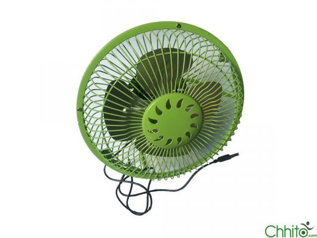 USB Green Fan Medium Size