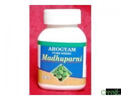 AROGYAM PURE HERBS MADHUPARNI TABLET