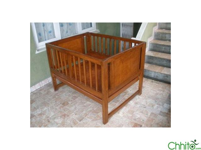 Hurry Cheap Just 3200 Baby Wooden Crib Resonable Sale
